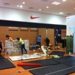 Vận chuyển tháo dỡ shop thời trang Nike tại Nha Trang Center chuyển đi Sài Gòn