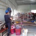 Vận chuyển tháo dỡ và lắp đặt nhà may tại Bình Tân