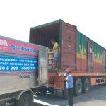 Trung chuyển hàng hóa vào Tp Nha Trang