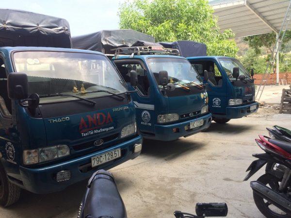 Cho thuê xe tải chở hàng tại Nha Trang